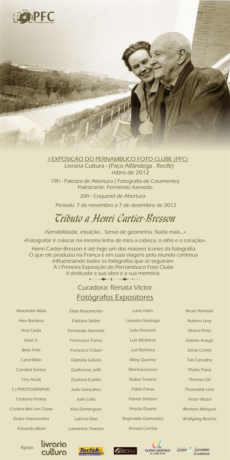 Convite Exposição Coletiva PFC