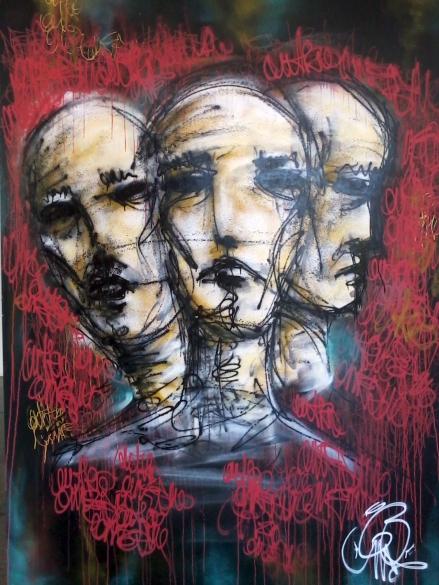 Fotografia de Grafismo exposto na Prefeitura da CIdade do Recife - Kika Domingues - Dispositivos Móveis