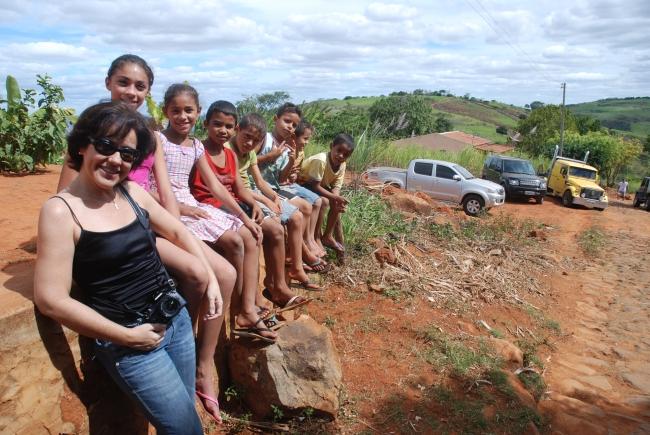 Trilha por Triunfo -Pernambuco - Kika e crianças por Luciene